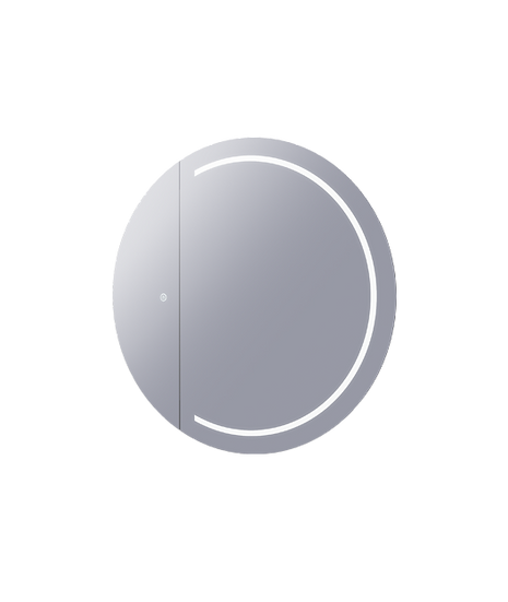 Remer Pearl Premium Round Mirror Cabinet