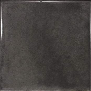 Spanish Gloss Black Decor Tile 150x150