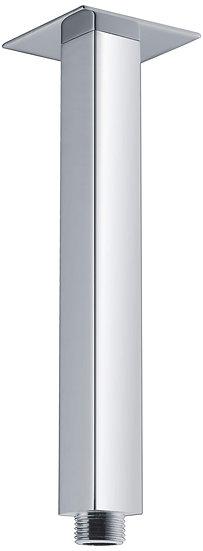 Chrome Square Shower Ceiling Dropper200/300/400/600mm