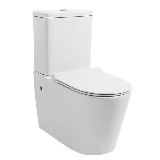 Mezio Rimless Wall Faced Toilet Suite