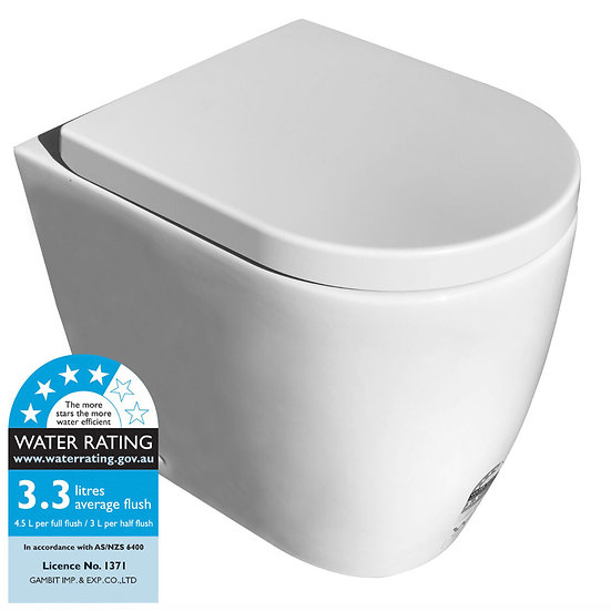 Napoli Wall Faced Toilet Pan Only