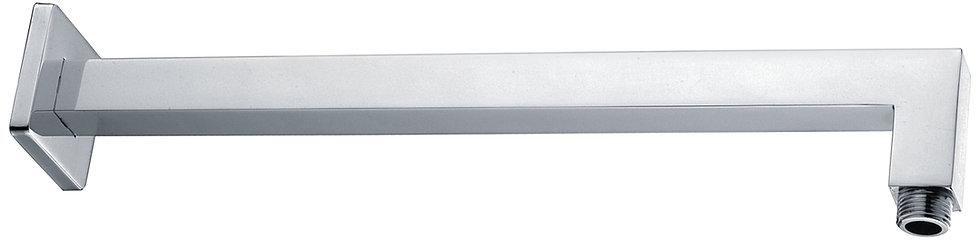 Chrome Square Shower L-Arm
