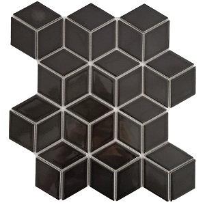 Rubix Gloss Black 48x48x6