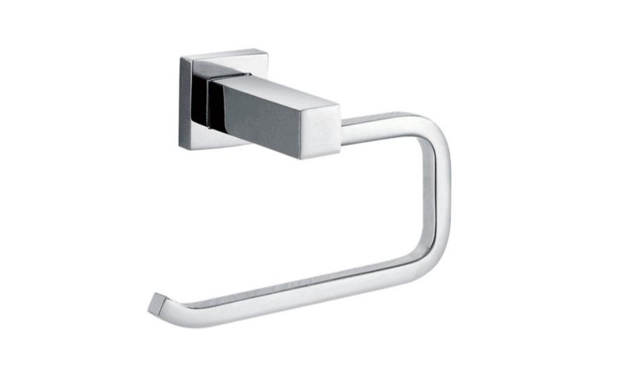 Chrome Square Toilet Roll Holder
