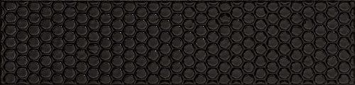 Italian Subway Tile Black Textured 75x300