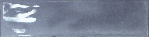 Spanish Gloss Blue Subway Tile 75x300