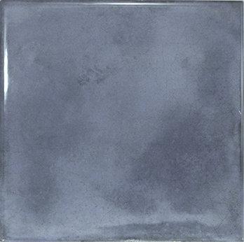 Spanish Gloss Blue Decor Tile 150x150