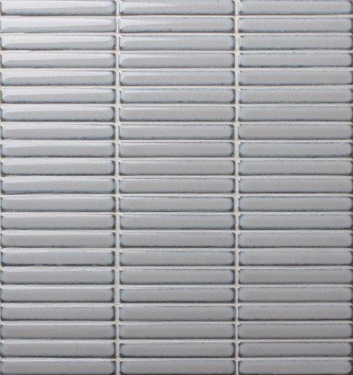 Japanese Finger Mosaics 284x298mm Gloss Grey