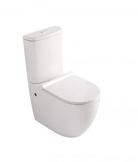 Donna Wall Faced Rimless Toilet Suite