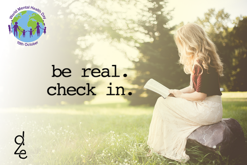 Take a Break: Be Real. Check in.