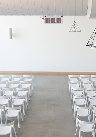The Lane ceremony in smaller interior sp