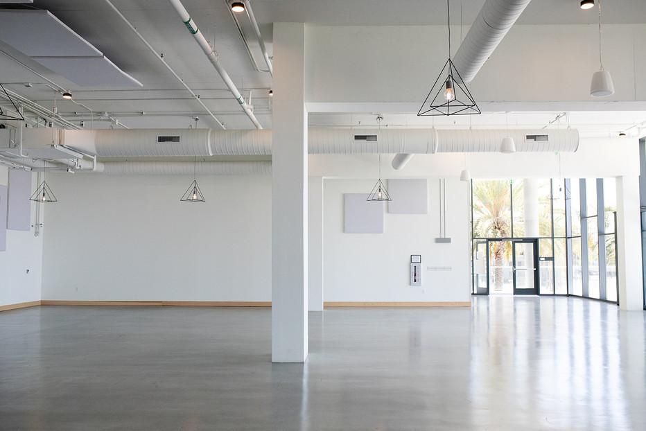 Larger Interior Space facing main entran