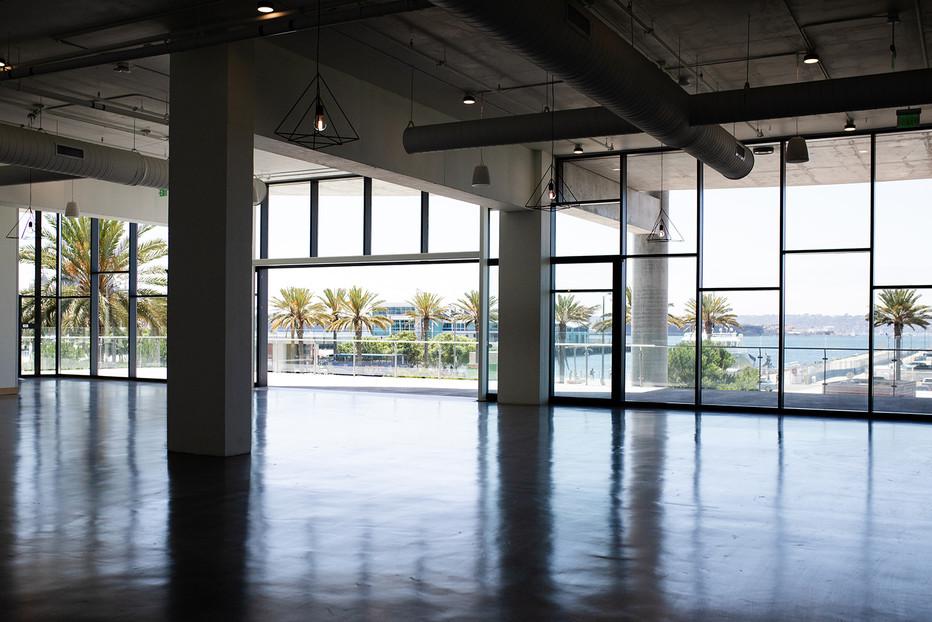 Larger Interior Space 20' sliding door