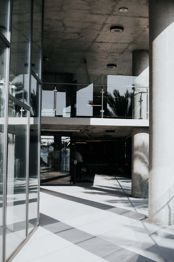 Main Entrance from the Elevator