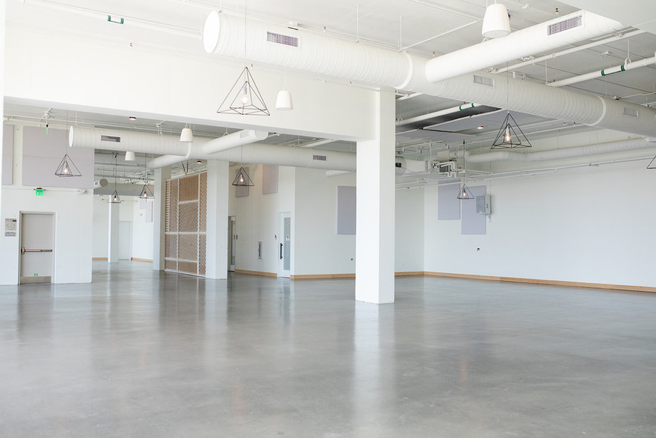 Larger Interior Space facing walkway and