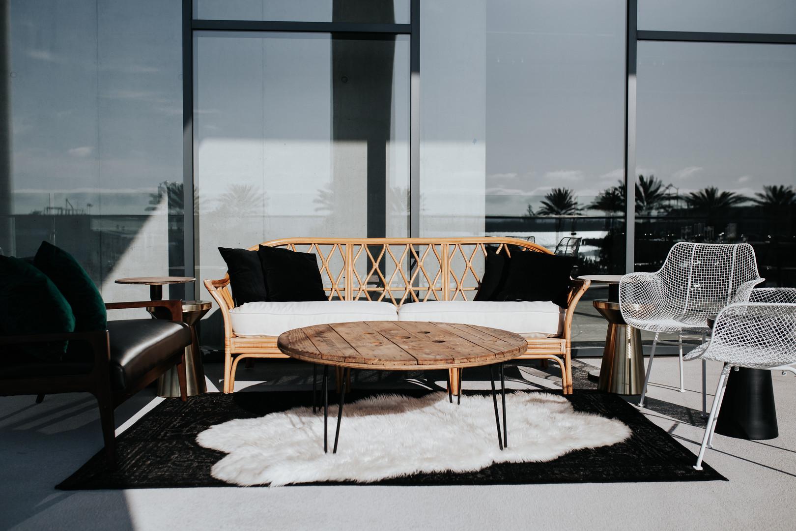 Wonder Event Rentals lounge