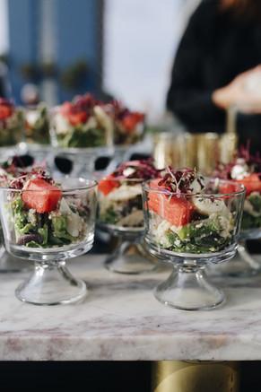 Coast Catering summer salad