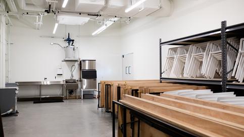 Prep Kitchen + Storage