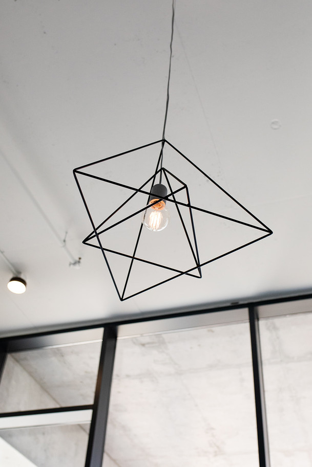 Moniker Design custom hanging pendants