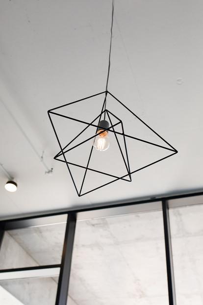 Moniker Design custom hanging pendants