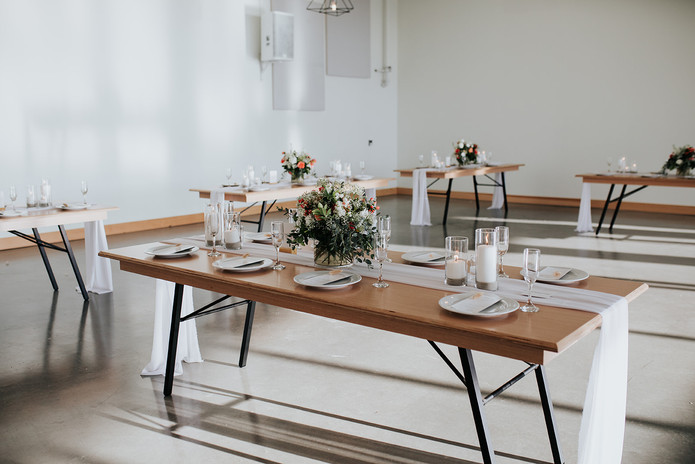the lane decorated folding tables