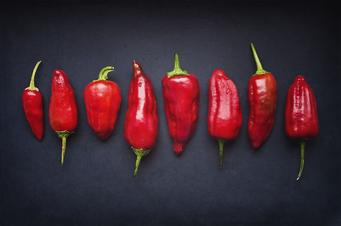 Röd chili Pods