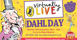 Puffin Virtually Live Roald Dahl Day