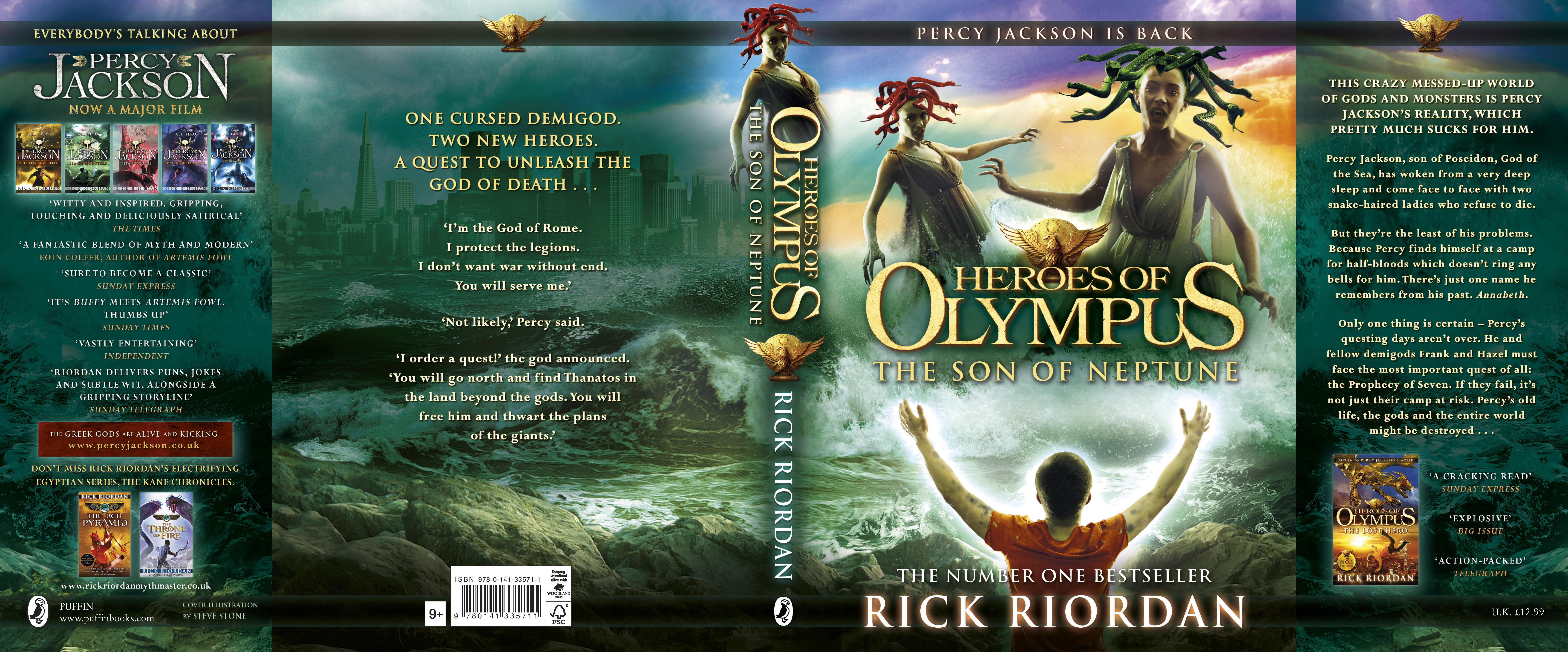 Heroes of Olympus The Son of Neptune