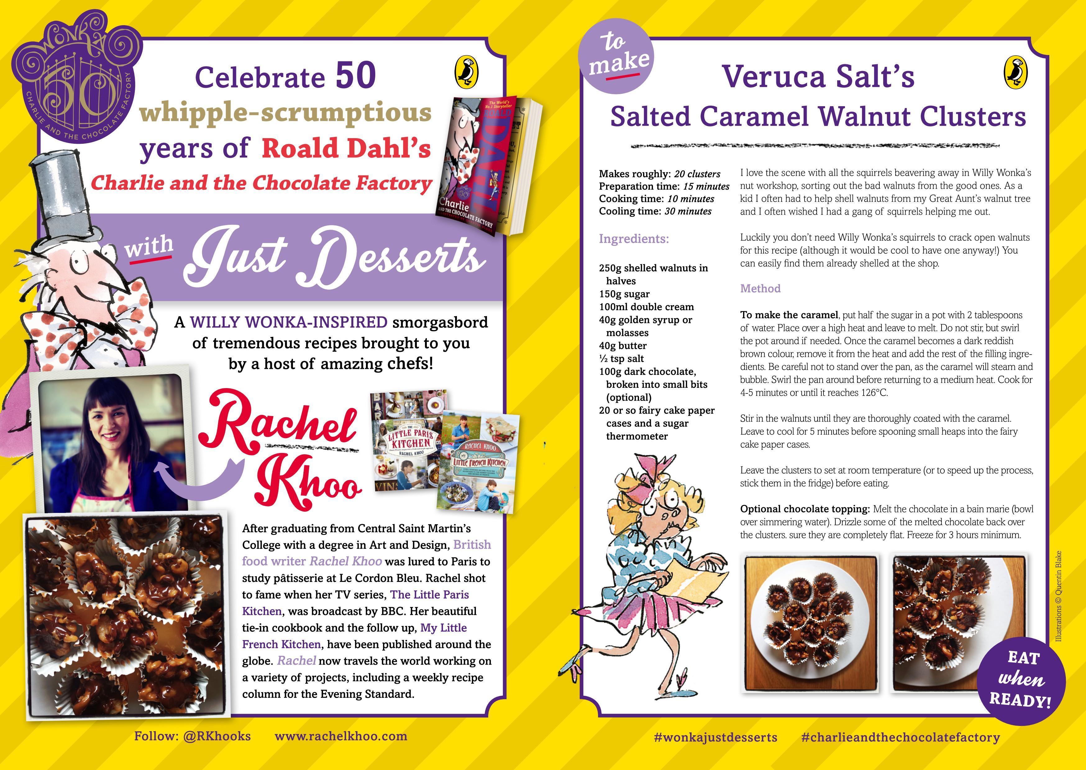 Just Desserts social media campaign