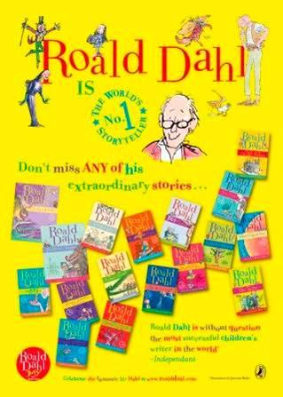 Roald Dahl Day poster