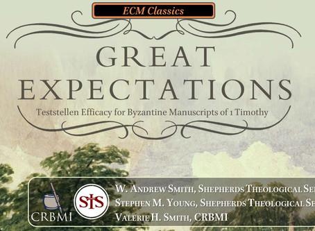 SBL/ECM Session on Byzantine Manuscripts