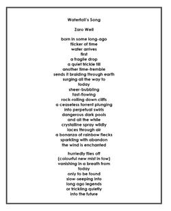 Waterfall's Song