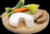 Crescenza di capra, formaggio fresco di capra dell'aienda agricola La Capreria di Montegalda (VI)
