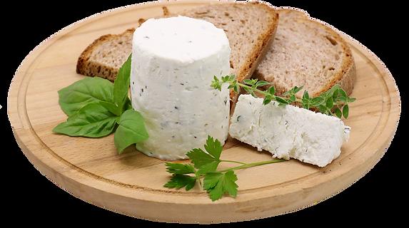 Il Tommasino alle erbe, formaggio fresco alle erbe tipo robiola dell'azienda agricola La Capreria di Montegalda (VI)