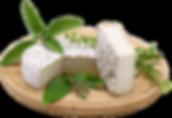 Erbe dei Berici, formaggio di capra a crosta fiorita e ricoperto di erbe dell'azienda agricola La Capreria di Montegalda (VI)