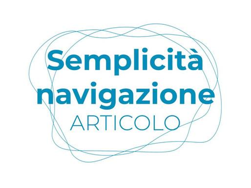Website per tutti: Semplicità