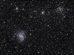 NGC 6946+6936