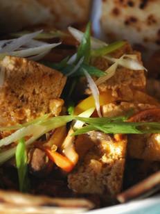 Red Thai Smoked Tofu Curry