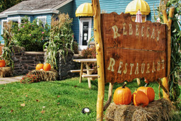 Fall Harvest at Rebeccas Restaurant
