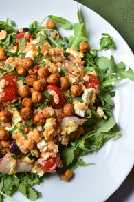 mediterranean lentil bowl