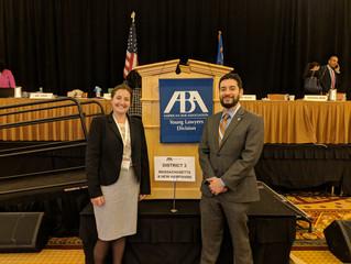 Segal Law Represents MA & NH at ABA YLD