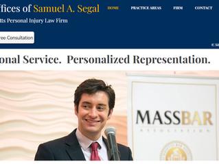 Segal Law Website Re-Launch