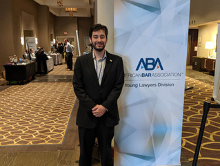 Atty. Segal at the ABA in New Orleans