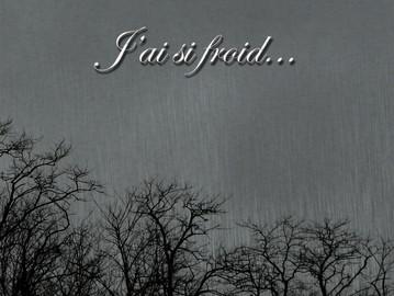 J'ai si froid... new album !