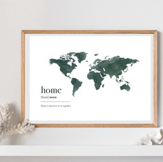 Global citizen print