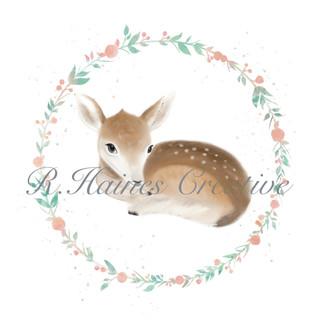 Woodland Print - Deer