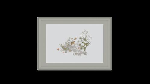 Winter Moss Frame