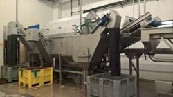 Barrelwasher - integrated destoner