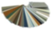 window finishes, colours