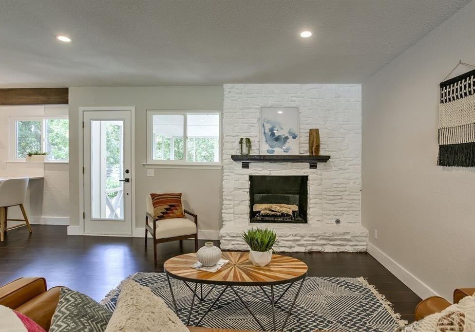 St. Albans Living Room